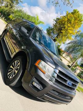 2015 Ford Expedition EL for sale at IRON CARS in Hollywood FL