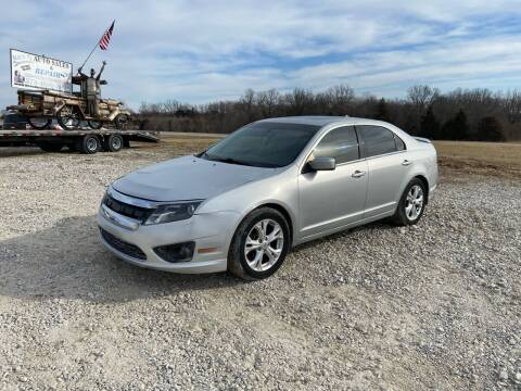 2012 Ford Fusion for sale at Ken's Auto Sales & Repairs in New Bloomfield MO