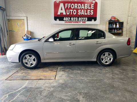 2006 Chevrolet Malibu for sale at Affordable Auto Sales in Humphrey NE