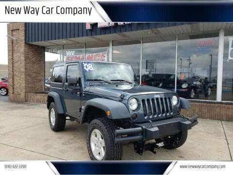 2008 Jeep Wrangler for sale at New Way Car Company in Grand Rapids MI