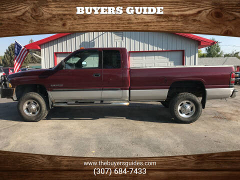 2002 Dodge Ram Pickup 2500 for sale at Buyers Guide in Buffalo WY