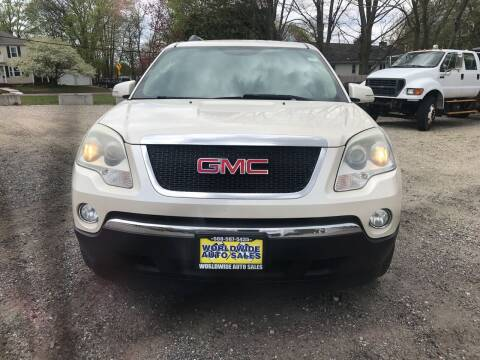 2010 GMC Acadia for sale at Worldwide Auto Sales in Fall River MA