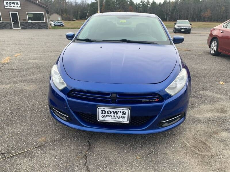 2014 Dodge Dart for sale at DOW'S AUTO SALES in Palmyra ME