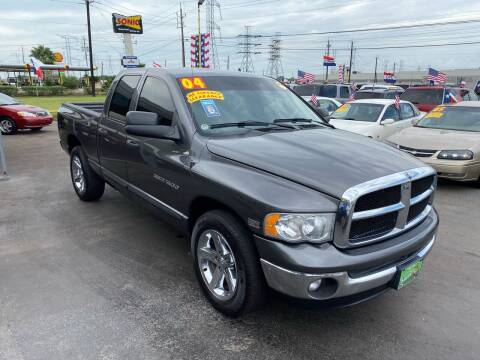 2004 Dodge Ram Pickup 1500 for sale at Texas 1 Auto Finance in Kemah TX