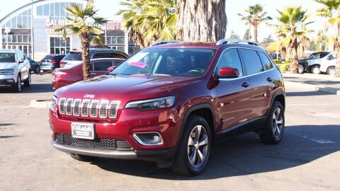 2019 Jeep Cherokee for sale at Okaidi Auto Sales in Sacramento CA