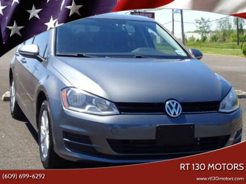 2016 Volkswagen Golf for sale at RT 130 Motors in Burlington NJ