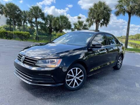2017 Volkswagen Jetta for sale at Vogue Auto Sales in Pompano Beach FL
