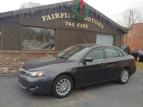 2009 Subaru Impreza for sale at Fairfield Motors in Fort Wayne IN