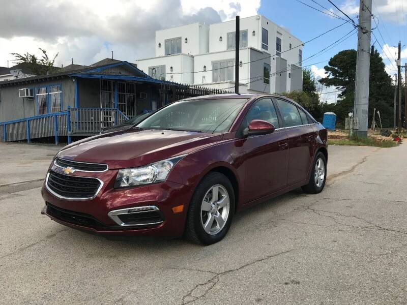 2016 Chevrolet Cruze Limited for sale at Saipan Auto Sales in Houston TX