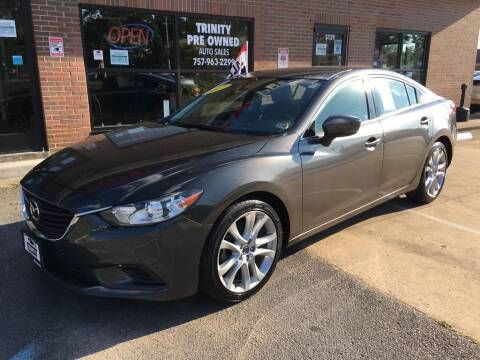 2017 Mazda MAZDA6 for sale at Bankruptcy Car Financing in Norfolk VA