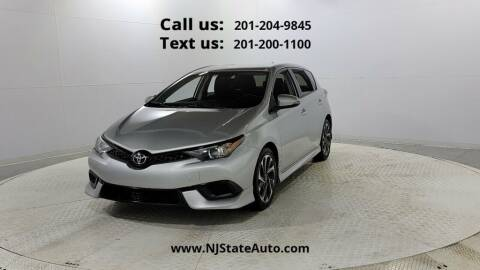 2017 Toyota Corolla iM for sale at NJ State Auto Used Cars in Jersey City NJ