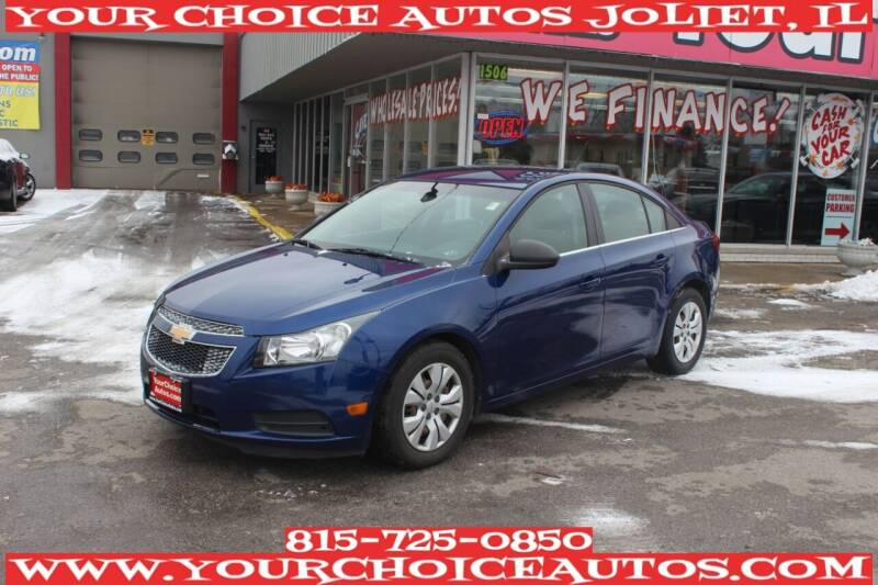 2012 Chevrolet Cruze for sale at Your Choice Autos - Joliet in Joliet IL