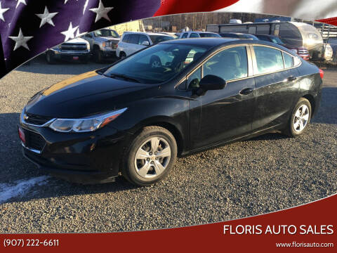 2017 Chevrolet Cruze for sale at FLORIS AUTO SALES in Anchorage AK