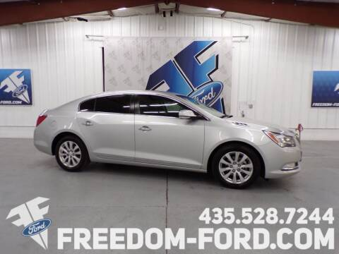 2016 Buick LaCrosse for sale at Freedom Ford Inc in Gunnison UT