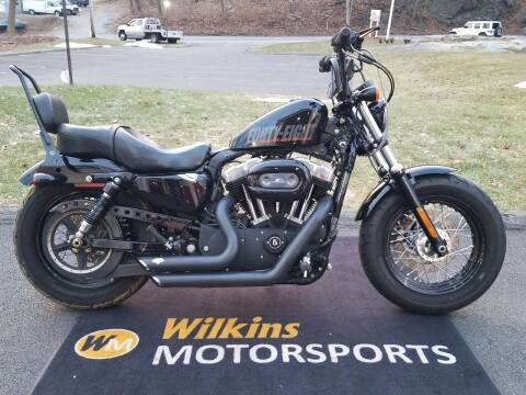 2013 Harley-Davidson Sportster Forty-Eight for sale at WILKINS MOTORSPORTS in Brewster NY