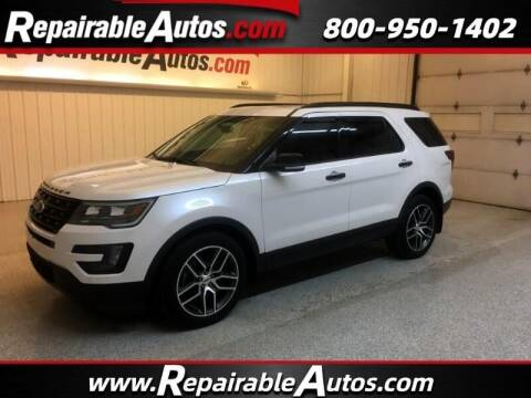 2016 Ford Explorer for sale at Ken's Auto in Strasburg ND