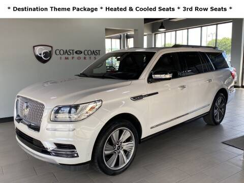 2018 Lincoln Navigator L for sale at Coast to Coast Imports in Fishers IN