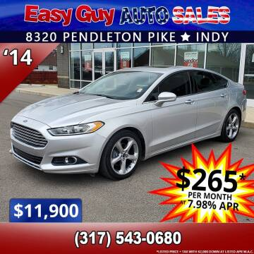 2014 Ford Fusion for sale at Easy Guy Auto Sales in Indianapolis IN