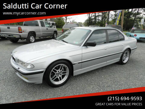 2001 BMW 7 Series for sale at Saldutti Car Corner in Gilbertsville PA