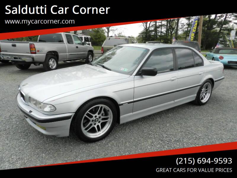 2001 BMW 7 Series for sale at Saldutti Car Corner in Gilbertsville PA