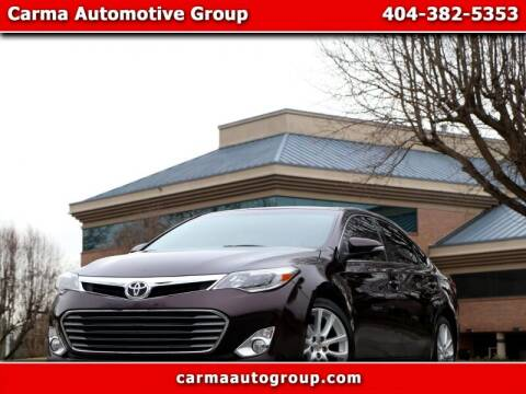2013 Toyota Avalon for sale at Carma Auto Group in Duluth GA
