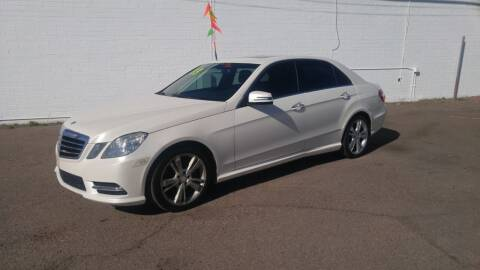 2013 Mercedes-Benz E-Class for sale at Advantage Motorsports Plus in Phoenix AZ