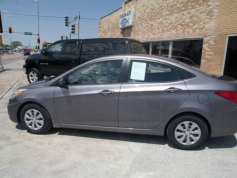 2015 Hyundai Accent for sale at Kingdom Auto Centers in Litchfield IL