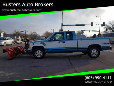 1995 Chevrolet C/K 1500 Series for sale at Busters Auto Brokers in Mitchell SD
