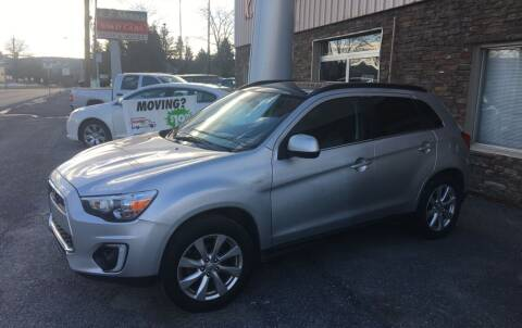 2015 Mitsubishi Outlander Sport for sale at K B Motors in Clearfield PA