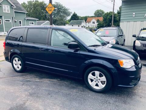 2013 Dodge Grand Caravan for sale at SHEFFIELD MOTORS INC in Kenosha WI