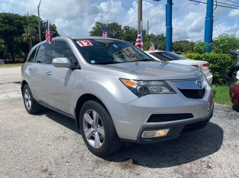 2012 Acura MDX for sale at AUTO PROVIDER in Fort Lauderdale FL