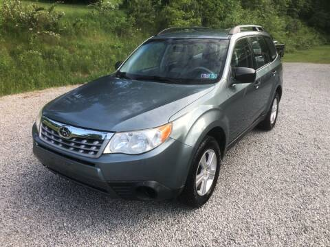 2011 Subaru Forester for sale at R.A. Auto Sales in East Liverpool OH