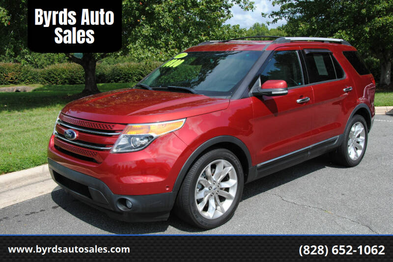 2013 Ford Explorer for sale at Byrds Auto Sales in Marion NC