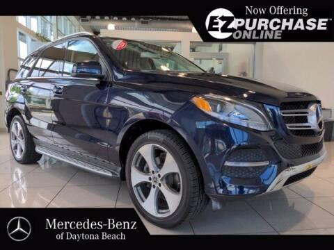 2018 Mercedes-Benz GLE for sale at Mercedes-Benz of Daytona Beach in Daytona Beach FL
