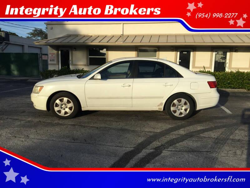 2009 Hyundai Sonata for sale at Integrity Auto Brokers in Pompano Beach FL