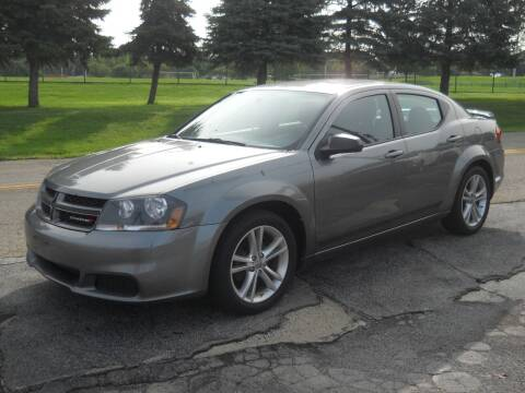 2013 Dodge Avenger for sale at Hern Motors in Hubbard OH