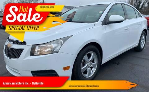 2011 Chevrolet Cruze for sale at American Motors Inc. - Belleville in Belleville IL