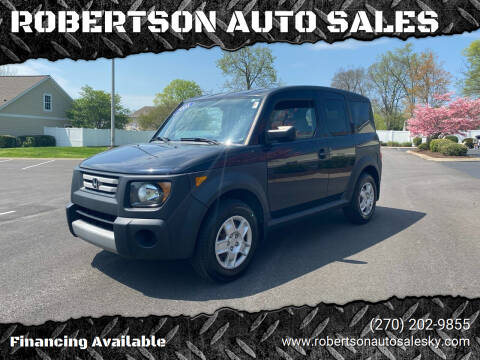 2008 Honda Element for sale at ROBERTSON AUTO SALES in Bowling Green KY