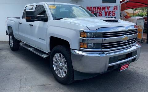 2018 Chevrolet Silverado 2500HD for sale at Manny G Motors in San Antonio TX