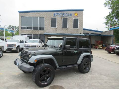 2012 Jeep Wrangler for sale at Lone Star Auto Center in Spring TX