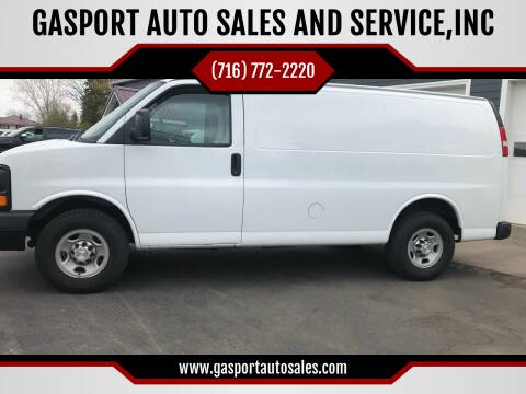 2015 Chevrolet Express Cargo for sale at GASPORT AUTO SALES AND SERVICE,INC in Gasport NY