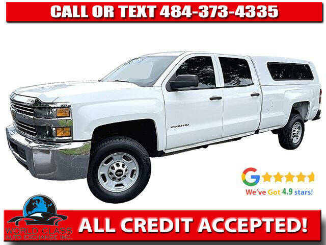 2015 Chevrolet Silverado 2500HD for sale at World Class Auto Exchange in Lansdowne PA