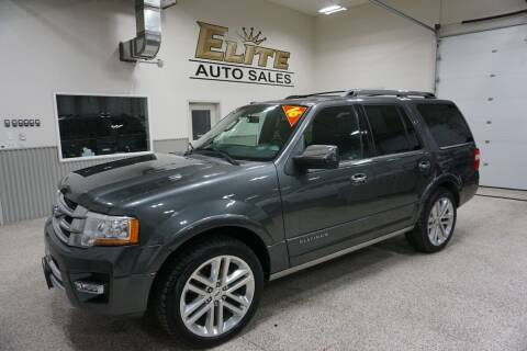 2015 Ford Expedition for sale at Elite Auto Sales in Ammon ID