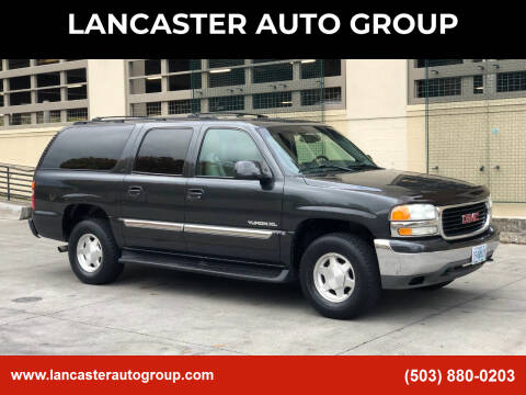 2003 GMC Yukon XL for sale at LANCASTER AUTO GROUP in Portland OR