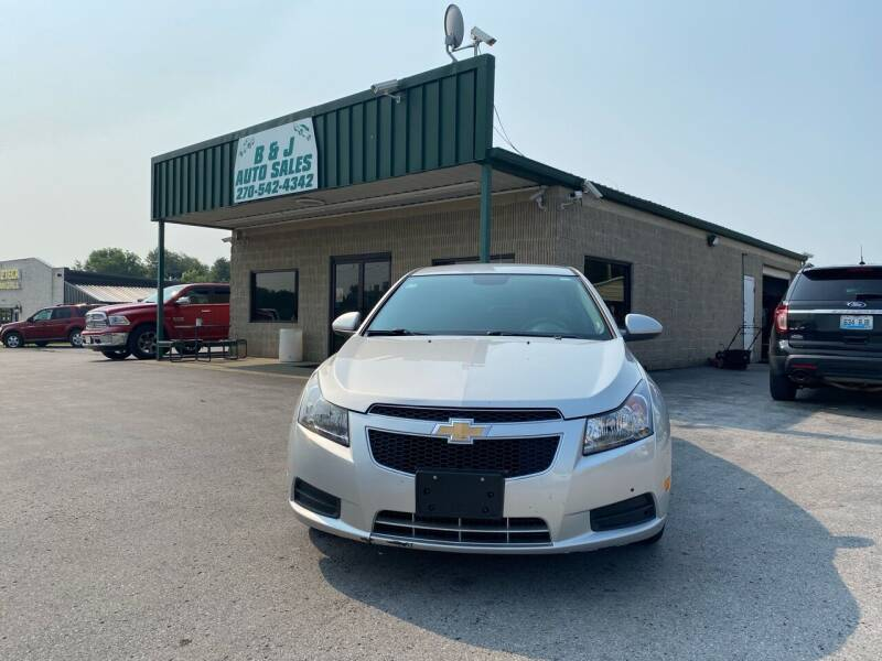 2014 Chevrolet Cruze for sale at B & J Auto Sales in Auburn KY