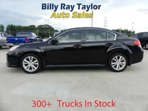 2014 Subaru Legacy for sale at Billy Ray Taylor Auto Sales in Cullman AL