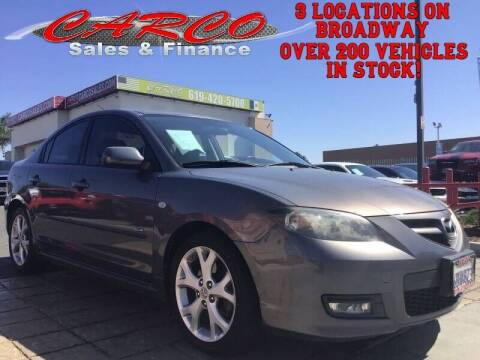 2008 Mazda MAZDA3 for sale at CARCO SALES & FINANCE - Under 7000 in Chula Vista CA