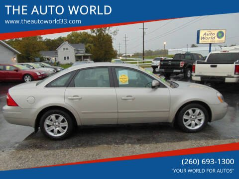 2006 Ford Five Hundred for sale at THE AUTO WORLD in Churubusco IN