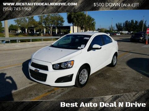 2013 Chevrolet Sonic for sale at Best Auto Deal N Drive in Hollywood FL