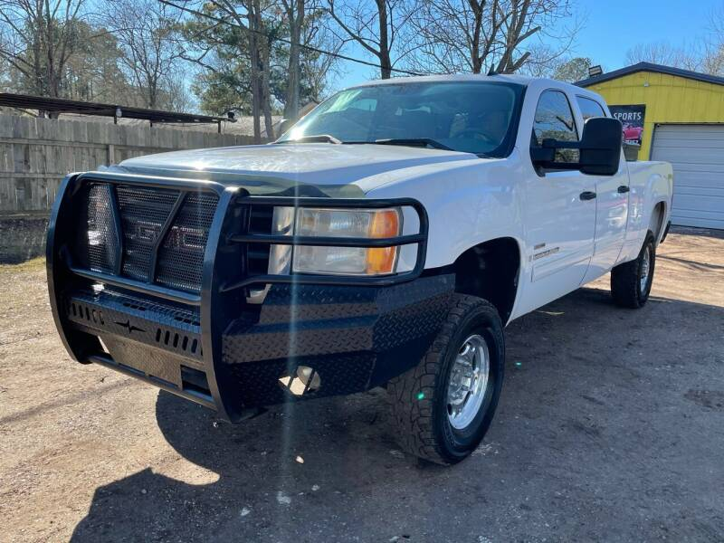 2008 GMC Sierra 2500HD for sale at M & J Motor Sports in New Caney TX